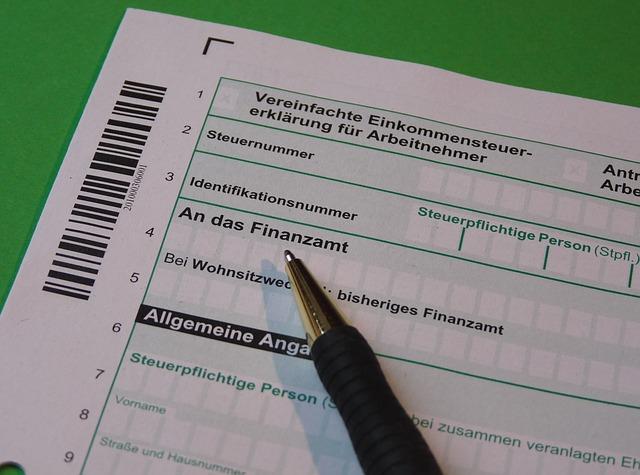 formulář k vyplnění
