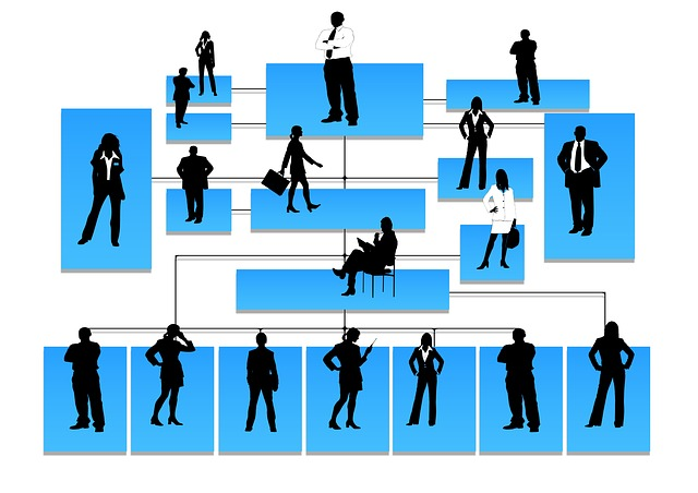 siluety hierarchie