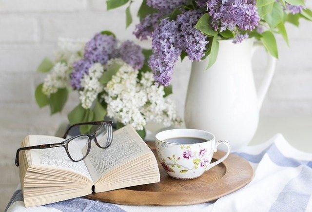 odpočinek, četba